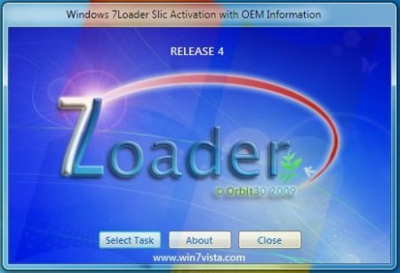 Активатор Windows 7 Loader OEM Hazar 32 (x86) - 64 bit